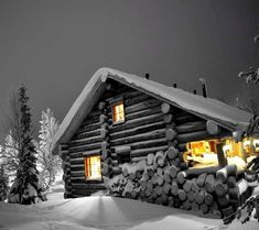 WinterZ Wonderland Winter cabin wallpaper Shopping For The Best Discount Chandeliers Article Body: C Color Splash Photo, Snow Night, Desktop Background Pictures, Garden Arches, Splash Photography, Winter Cabin, Winter Fun, Lawn Furniture, Dream House Plans