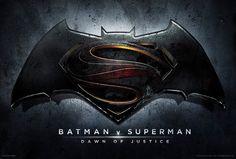"Batman vs. Superman: Dawn of Justice | official Batman vs. Superman movie title & 1st poster revealed. | looks like they messed up. ""Batman V Superman"" ??? more like ""Batman > Superman""  :P"