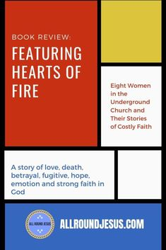 Hearts of Fire is a #book that tells a true life #story about women and their costly #faith. 8 women underwent persecution for the love of Christ. You should read this book if you think your troubles are the worst. It's a wake up call to be a better christian. #bookreview #christianbooks Strong Faith, Faith In God, Overcome The World, I Have Spoken, Train Up A Child, Seeking God, Create Awareness, Fire Heart, Jesus Freak