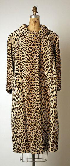 Coat Maximilian Date: 1960s Culture: American Medium: fur Accession Number: 1978.171