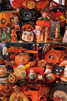 Rare Halloween collectibles from the early 20th century, such as noisemakers, novelty candy containers, toys, and costumes that date from 1905, can range upward in value to $4,000.