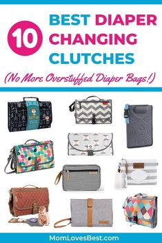 Diaper changing clutches are a lifesaver for any mom. If you're the kind who needs to be out and about with her little one all the time, this is something that you should never be without. Here are 10 of the best diaper changing clutches out there. Diaper Bag Backpack, Diaper Bags, Diaper Bag Essentials, Best Diaper Bag, Diaper Clutch, Big Handbags, Baby List, Life Savers