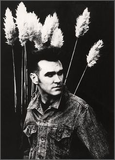Morrissey by Anton Corbijn. Because Corbijn is THE most amazing - and Morrissey was made to be photographed.