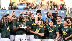 With the Rugby World Cup just five weeks away, we take a closer look at each of the competing nations. After profiling 14 teams, we continue our series with S Go Bokke, South African Rugby, Rugby Championship, World Cup Champions, All Blacks, Rugby World Cup, Rugby League, Man United, Logos