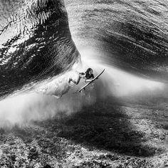 Sally under the sea. Photo: Scott Sporleder