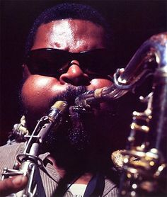 With the exception of Sun Ra, few jazz artists were more visually arresting than Rahsaan Roland Kirk. Description from jazzwax.com. I searched for this on bing.com/images