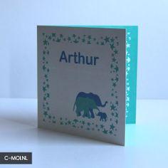 Birth Card by C-MOI
