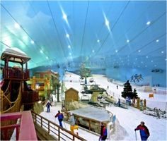 Ski #Dubai at The Mall of Emirates, #stepbystep