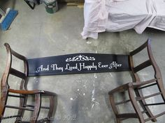 double chair bench