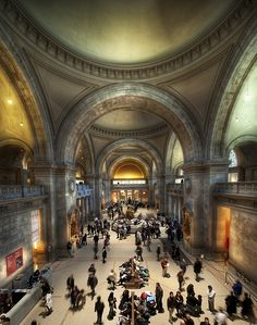 "Metropolitan Museum of Art (USA). 'Known as ""The Met,"" this museum of encyclopedic proportions has over two million objects in its permanent collections, many of which are displayed in the 17 acres' worth of galleries.' http://www.lonelyplanet.com/usa/new-york-city/sights/gallery/metropolitan-museum-art"