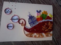 quilling my passion: christmas card