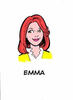 Emma Pillsbury  #archiemeetsglee #glee #archie #archiecomics #emmapillsbury #jaymamays