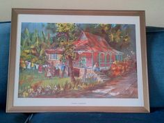 """""""Washday"""" by Herbie Rose. Reminds my husband of the house he grew up in."""