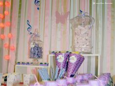 Details for this Violetta themed party
