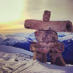 atop #7thHeaven in #Whistler #Canada