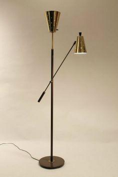 RARE GERALD THURSTON lightolier standing lamp   Mid-Century Modern Floor Lamps for your living room designs http://modernfloorlamps.net/mid-century-modern-floor-lamps-living-room-designs/