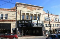 The Bala Theater in Lower Merion is a great reality escape.