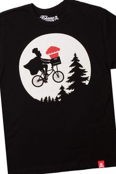 """Johnny Cupcakes is the """"World's First T-Shirt Bakery"""". As this Bicycle Chef shirt illustrates they create clever takes on popular culture and their limited edition manufacturing makes them even more popular. Wondering if Johnny Cupcakes item would be used and appreciated by a Teen in your life? Have them complete a Gift Survey on http://www.giftingsense.com #GiveMoneySmartz #GreatGifts #ClothingGifts #GreatTeenGifts #JohnnyCupcakes"""