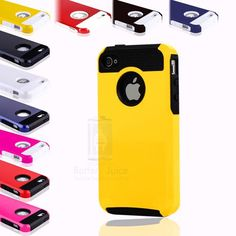 10x New Color Rugged Rubber Matte Fit Hard Case Cover For Apple iPhone 4 4G 4S ★OR CHOOSE FROM MORE COLORS★SHIPS SAME/NEXT DAY-PHX,AZ★$29.99