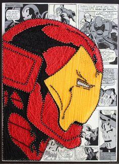 Iron man string art ❤️