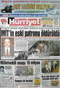 Hürriyet gazetesi 27 eylül 1990 Newspaper Headlines, Old Newspaper, Emo, Turkey History, Dna Genealogy, Piercings, Blue Green Eyes, Indian Language, Important Facts