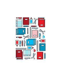 School Icons on Behance Beginner vector Vector Design, Graphic Design, School Icon, Brand Icon, School Logo, School Design, Icon Design, Ikon, Logos