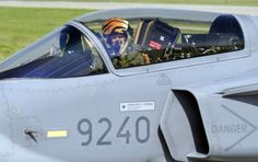 Czech pilots with Jas-39 Gripen fighters today officially took over the monitoring of Estonia, Latvia and Lithuania´s airspace from the Poles within NATO´s project of the airspace protection for the three Baltic countries that do not have their own fighter aircraft. Jas 39 Gripen, Fighter Aircraft, Lithuania, Pilots, Countries, News, Pilot