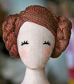 Tilda doll idea (hair & face)                                                                                                                                                                                 More