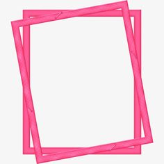 Pink frame PNG and Clipart