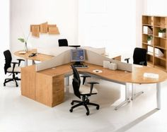 Large 4 person workstation