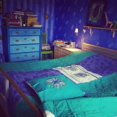 Blue chaos in My room