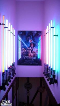 lightsaber decor