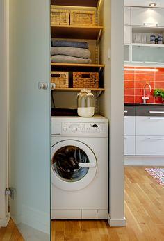 placard-buanderie - machine à laver à l'abri des regards