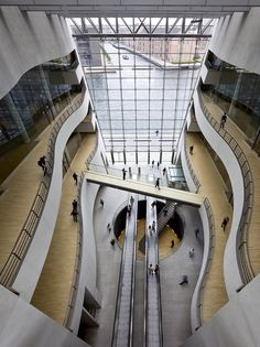 The Black Diamond: Royal Library Extension in Copenhagen, Denmark by Schmidt Hammer Lassen Architects