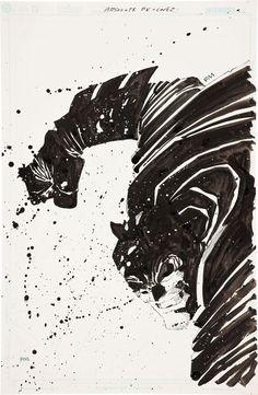 Absolute Dark Night.       by Frank Miller