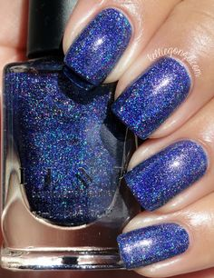 Brand: ILNP // Collection: Summer 2015 Ultra Holos // Color: Honor Roll // Blog: Kellie Gonzo