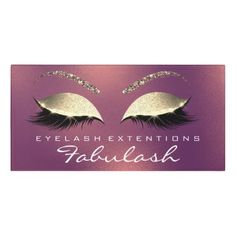 Copper Glitter Gold Beauty Salon Lashes Makeup Door Sign - glitter gifts personalize gift ideas unique