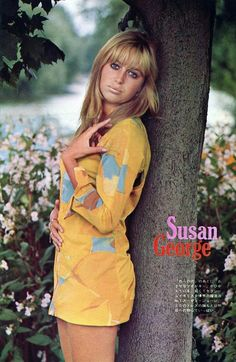 Female Actresses, Actors & Actresses, Hollywood Stars, Classic Hollywood, Susan George Actress, George Young, Pinup Photoshoot, Hollywood Heroines, Famous Women