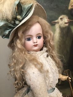 """Rare And Elegant Antique French FG Francois Gaultier Doll 24"""" What A Beauty.   eBay"""