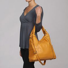 $100 = A honey yellow hobo for the weekend. #handbags