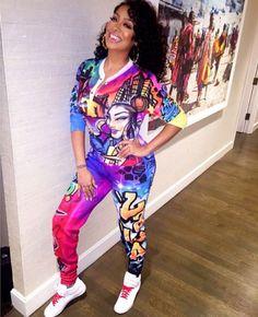 Lala At Alicia Keys Pajama Jammy Jam Birthday Party 80s Theme Outfits