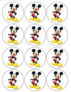 Edible Icing Cake Images for your Special Occassions! Fiesta Mickey Mouse, Mickey Mouse Bday, Theme Mickey, Mickey Mouse Cupcakes, Mickey Mouse Parties, Baby Mickey, Mickey Party, Mickey Mouse Clubhouse, Mickey Mouse Birthday