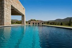 Stone Finca with Endless Swimming Pool and Mountain Views | New & Notable Luxury Real Estate | Calvia, Mallorca | Mallorca Sotheby's International Realty
