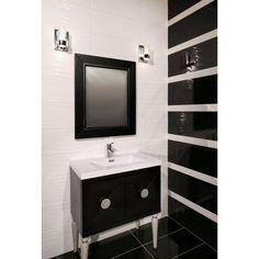 Master shower side walls Breeze Blanco II Polished Ceramic Wall Tile - 10 x 28 - 100426048 Ceramic Tile Bathrooms, Bath Tiles, Ceramic Floor Tiles, Porcelain Tile, Tile Floor, White Wall Tiles, Luxury Rooms, Floor Decor, Bathroom Renovations