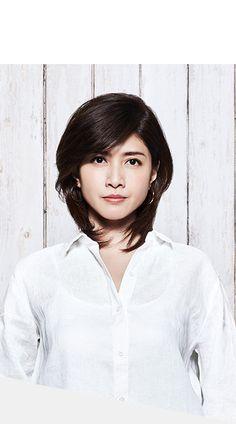 フレンチリネンンシャツ Japanese Beauty, Asian Beauty, Female Reference, Nice Body, Cute Girls, Makeup Looks, Hair Cuts, Handsome, Hairstyles