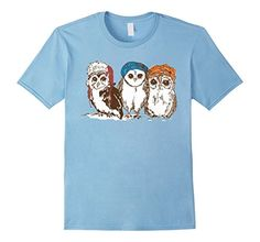 Hipster OwlsUrchin Wear: 3 Hipster Owls Graphic Tee Shirt. Adorable Owls Wearing Hats, Vintage, Retro, Hip, Cool, Indy Art. Men's, Boy's, Women's, Girl's, Adult, Child T-Shirt. Casual Fashion. Cute animals.  https://www.amazon.com/dp/B01M0116RP/ref=cm_sw_r_pi_dp_x_0P98xbM7HNT6Z