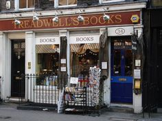 Treadwell's Books. (London) Second-hand magic and esoteric books. Bucket list.