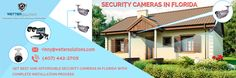 Wetter Solutions, one of leading sellers of security cameras in Orlando. They provide the 1080p HD security cameras with 1080p (1920 x 1080) instead of 704 x 480 resolution. They deal with various security camera brands, you can shop the wide range of security cameras from them along with installation service.
