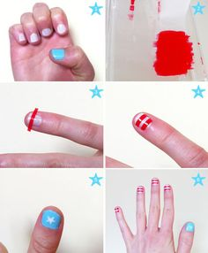 Cute and cool quick and easy nail designs for beginners and nail designs for short nails to do at home. Fun nail designs for summer, fall, winter & spring. Cute Easy Nail Designs, French Nail Designs, Creative Nail Designs, Short Nail Designs, Nail Designs Spring, Nail Polish Designs, Beautiful Nail Designs, Nails Design, Art Designs