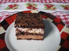 "Prajitura cu ciocolata ""Mars"" | MiremircMiremirc Something Sweet, Tiramisu, Deserts, Sweets, Ethnic Recipes, Food, Cakes, Pies, Good Stocking Stuffers"